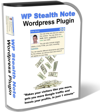 WP Stealth Note JV page